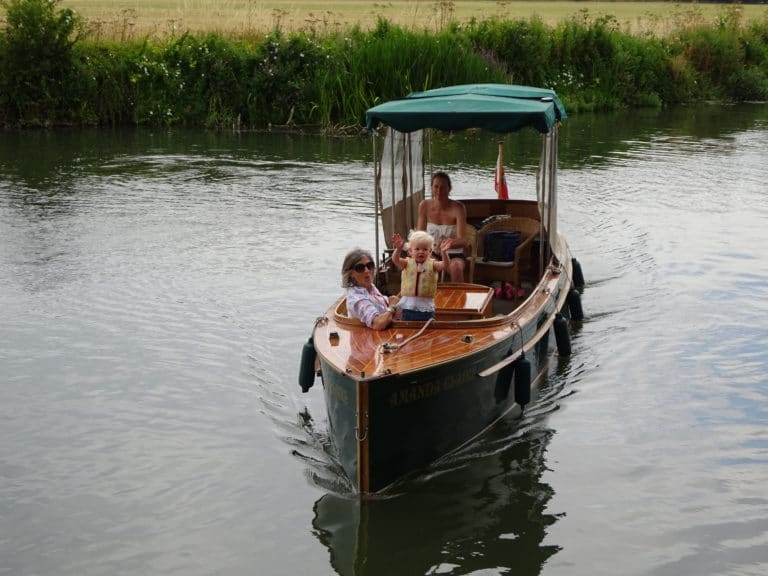 The Boat on the Upper Thames